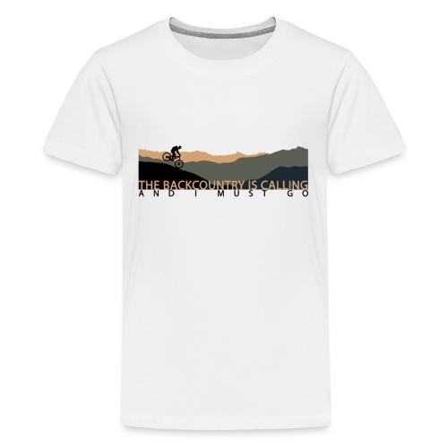The Backcountry is Calling | DopeyArt - Kids' Premium T-Shirt