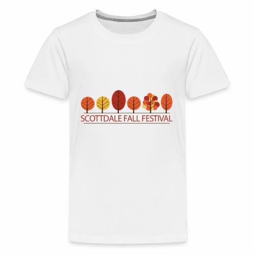 Scottdale Fall Festival Logo - Kids' Premium T-Shirt