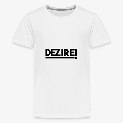 Dezire BLACK - Kids' Premium T-Shirt
