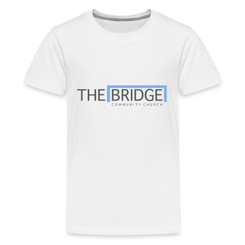The Bridge Church logo - Kids' Premium T-Shirt