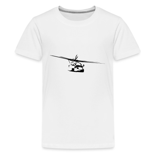 H-53 Sea Stallion Helicopter - Kids' Premium T-Shirt