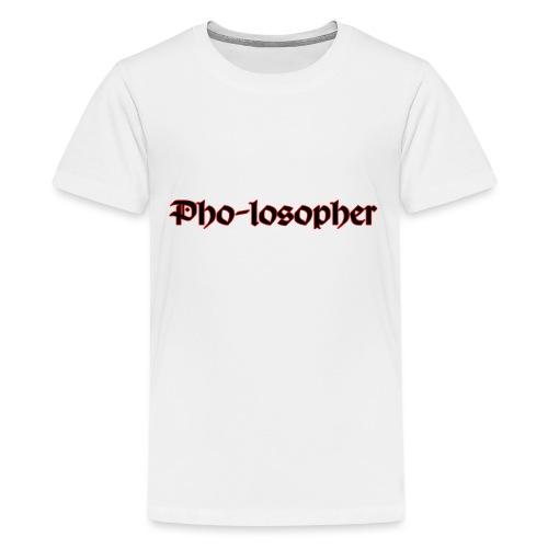Pholospher Word Mark - Kids' Premium T-Shirt