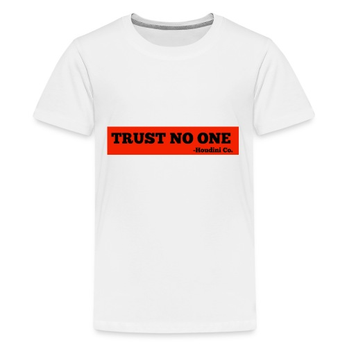 Trust No One - Kids' Premium T-Shirt