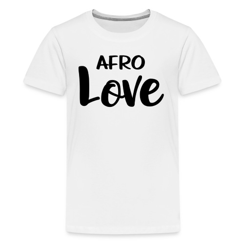 Afro Love Natural Hair TShirt - Kids' Premium T-Shirt