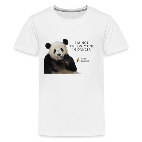 Endangered Pandas - Josiah's Covenant - Kids' Premium T-Shirt