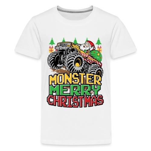 Santa Christmas Truck - Kids' Premium T-Shirt