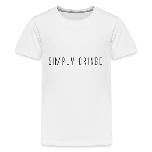 Simply Cringe - Kids' Premium T-Shirt