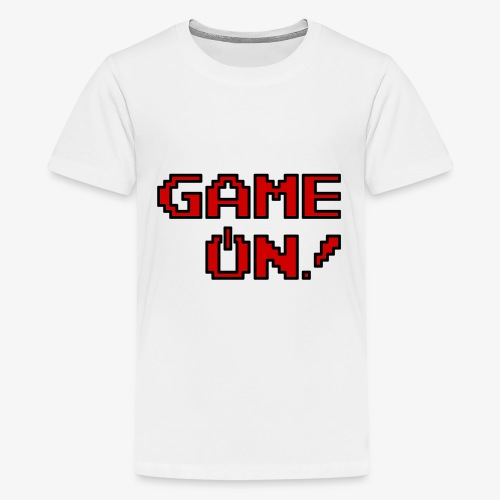 Game On.png - Kids' Premium T-Shirt