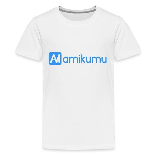 Amikumu Logo Blue - Kids' Premium T-Shirt