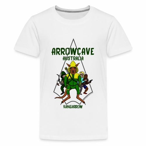 Arrow Cave Logo - Kids' Premium T-Shirt