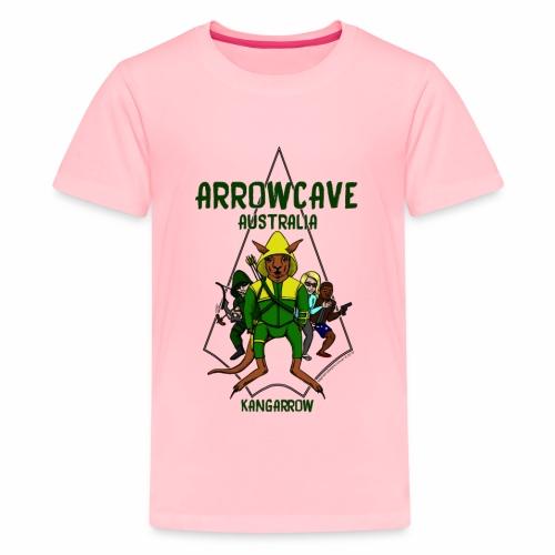 Arrow Cave Logo - Kids' Premium T-Shirt