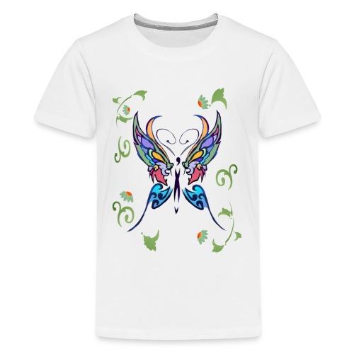 Bright Butterfly - Kids' Premium T-Shirt