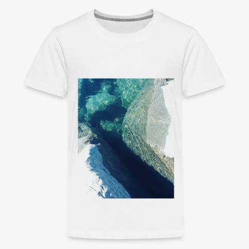 Rock underwater in New Zealand - Kids' Premium T-Shirt