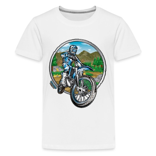 Supercross Motocross Shirt - Kids' Premium T-Shirt