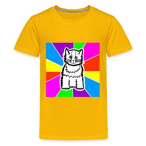 cat shirt wednesday - Kids' Premium T-Shirt