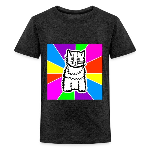 cat shirt wednesday - Kids' Premium T-Shirt