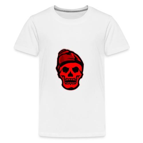 RED Skeleton HaHaHaHa - Kids' Premium T-Shirt