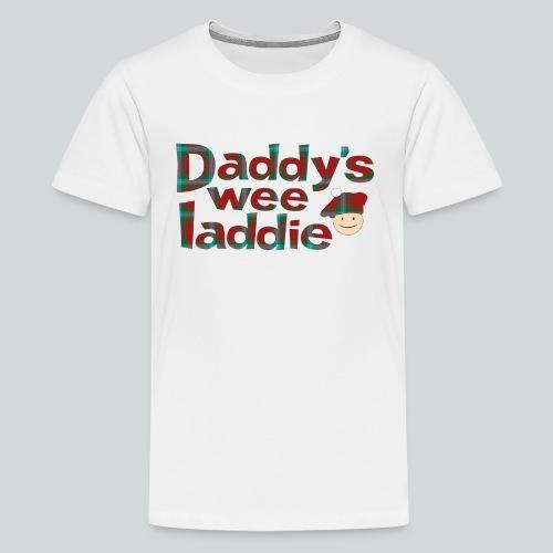 Daddy's Wee Laddie - Kids' Premium T-Shirt