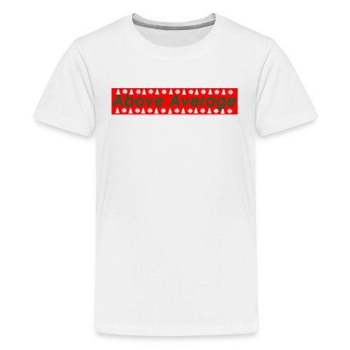 Above Average Christmas Edition - Kids' Premium T-Shirt
