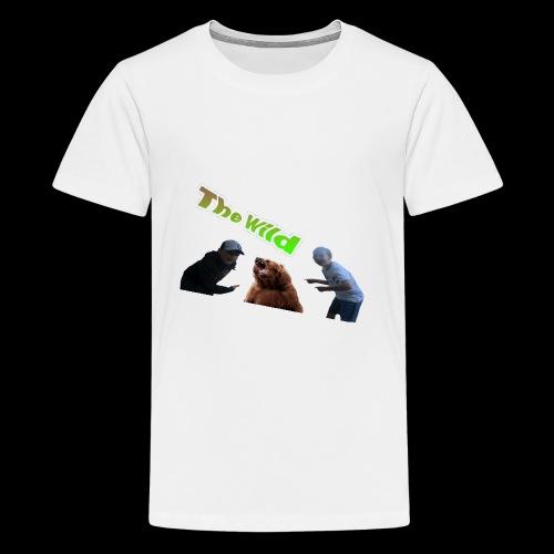 Exploring the wild - Kids' Premium T-Shirt