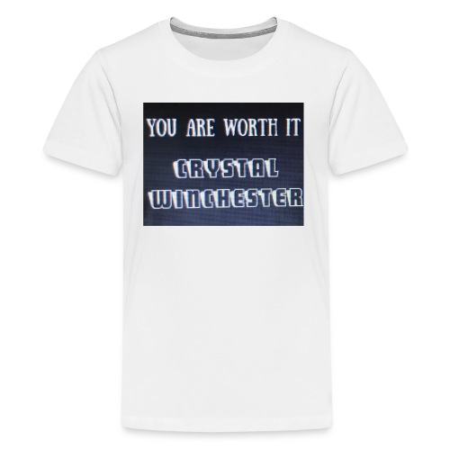 you are worth it - Kids' Premium T-Shirt