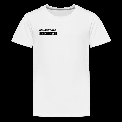 BLK Collingwood Central Logo - Kids' Premium T-Shirt