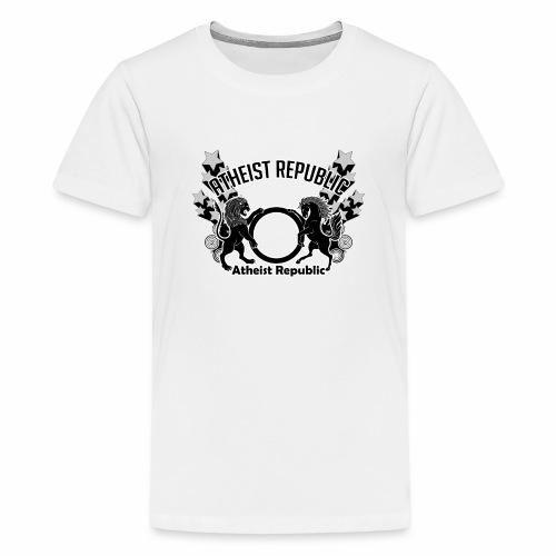 Atheist Republic Logo - Shooting Stars - Kids' Premium T-Shirt