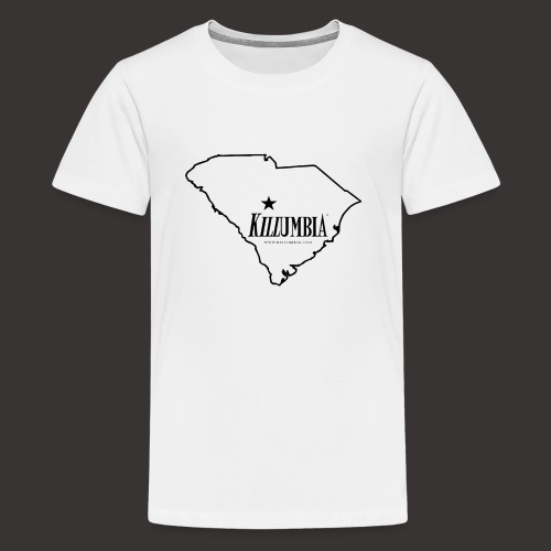 Killumbia Map (Black) - Kids' Premium T-Shirt