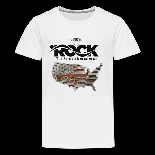 Eye Rock the 2nd design - Kids' Premium T-Shirt