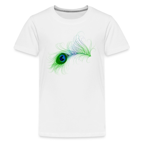 Peacock Feather - Kids' Premium T-Shirt