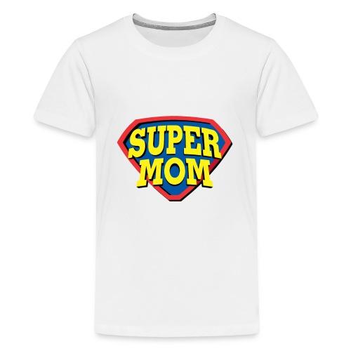 Super Mom, Super Mother, Super Mum, Mother's Day - Kids' Premium T-Shirt