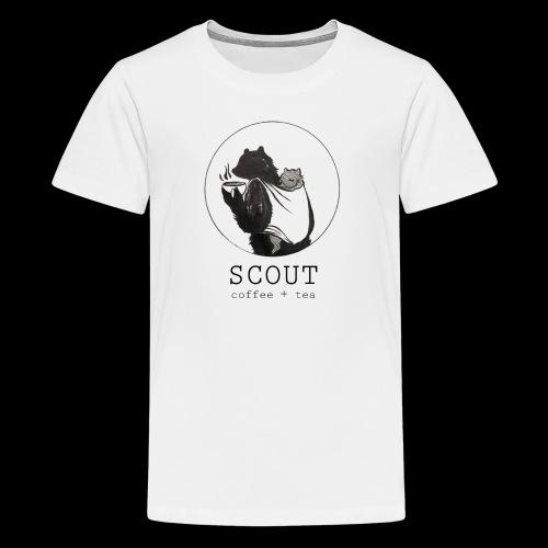 papa large logo - Kids' Premium T-Shirt