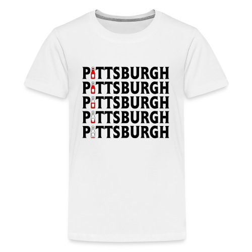 Pittsburgh (Ketchup) - Kids' Premium T-Shirt