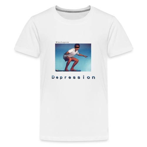 Depression album merchandise - Kids' Premium T-Shirt