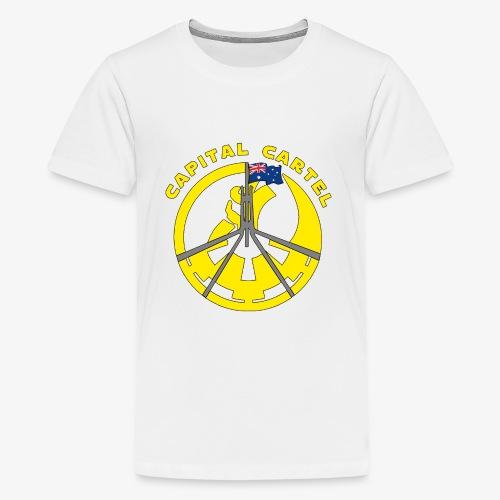 Cartel Yellow - Kids' Premium T-Shirt