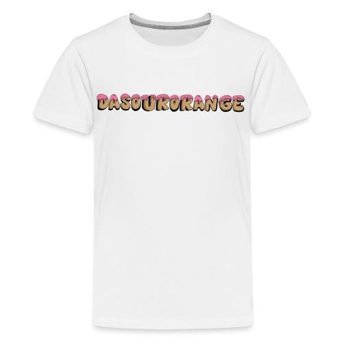 DaSourOrange Donut Design - Kids' Premium T-Shirt
