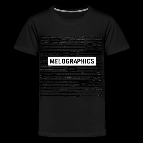 MELOGRAPHICS | Blackout Poem - Kids' Premium T-Shirt