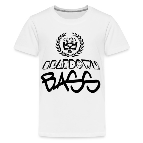BEATDOWN BLACK LOGO - Kids' Premium T-Shirt