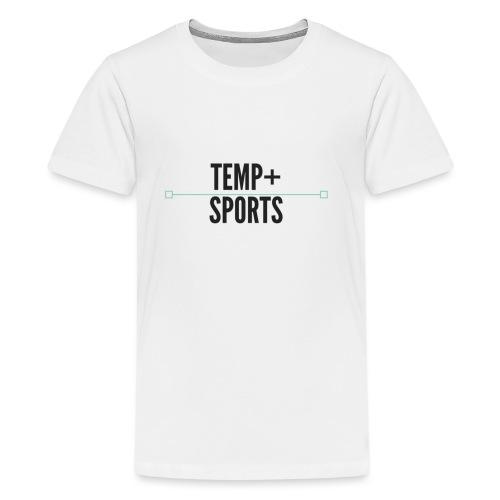 Temperature Plus Black Design - Kids' Premium T-Shirt