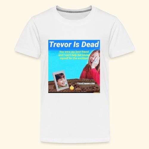 Trevor Is Dead Connect 4 Meme Design - Kids' Premium T-Shirt