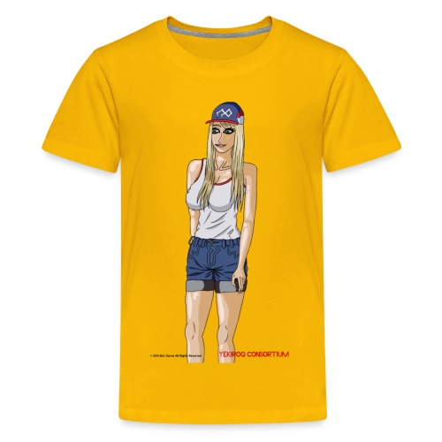 Gina Character Design - Kids' Premium T-Shirt