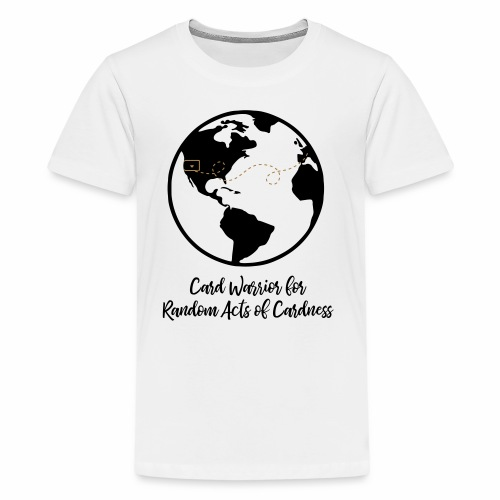 Globe - Card Warrior for Random Acts of Cardness - Kids' Premium T-Shirt
