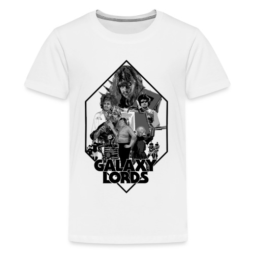 Monochrome Poster Image (Black) - Kids' Premium T-Shirt