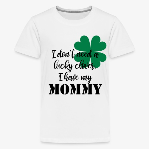 Lucky Clover Mommy - Kids' Premium T-Shirt