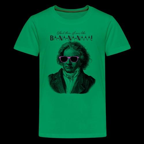 Ba-na-na-naaa! | Classical Music Rockstar - Kids' Premium T-Shirt