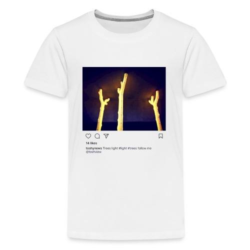 TREE LIGHT - Kids' Premium T-Shirt