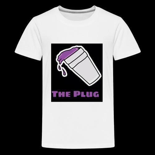 the Plug logo - Kids' Premium T-Shirt