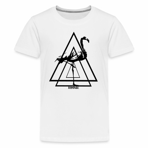 Flamingo. - Kids' Premium T-Shirt