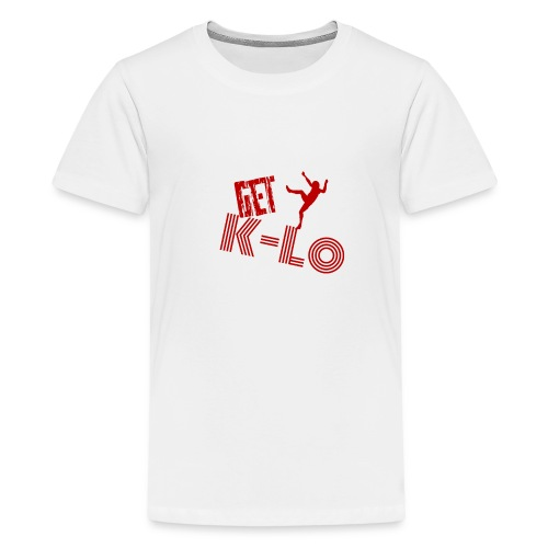 Red k lo - Kids' Premium T-Shirt