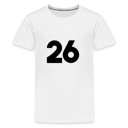 Main 26 logo - Kids' Premium T-Shirt